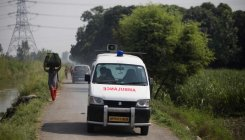 Maha: 12 Covid patients injured as ambulance overturns