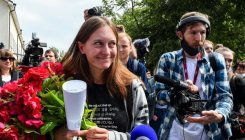Russian journo found guilty of 'justifying terrorism'