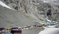 Covid-19 sampling counters set up for Amarnath devotees