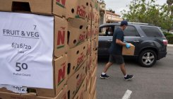 US government's boxed food aid promise falls short