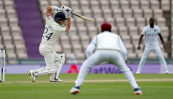 Eng, WI take a knee as rain spoils cricket's return