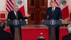 Trump hails 'outstanding relationship' with Mexico Prez