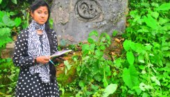 Hampi varsity researcher finds rare Veeragallu
