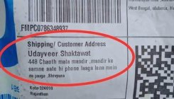 Hilarious delivery address leaves netizens in splits