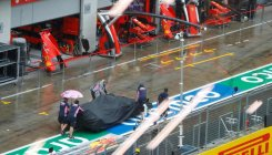 Driving rain delays final practice for F1's Styrian GP