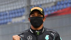 Hamilton cruises to 85th win in Mercedes one-two