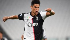 Ronaldo's penalty double edges Juventus closer to title