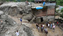 Nepal landslide sweeps 8 houses, 11 missing