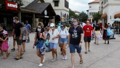 Disney World reopens as Covid-19 cases surge in Florida