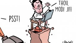 DH Toon | Where art thou, Modi ji, asks Rahul