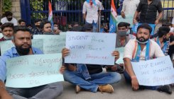 Christ University students protest exam decision