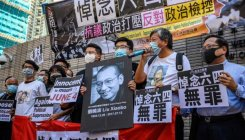Hong Kong activists charged for Tiananmen gathering
