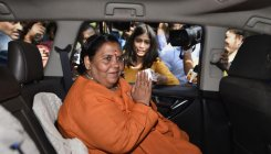 Rahul's envy causing Cong's destruction: Uma Bharti