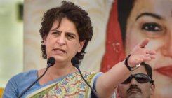 Priyanka hits out at UP govt over law & order situation