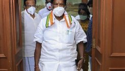 AIADMK MLAs stage walkout in Puducheryy Assembly