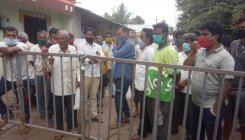 Kittur containment zone residents demand essentials