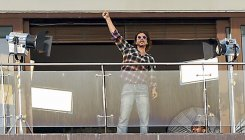 Here's why SRK's Mannat is covered in 'plastic shield'