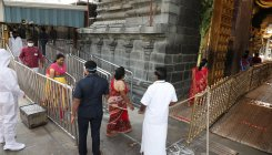 Covid-19 cases rise, Darshans go on in Tirumala temple