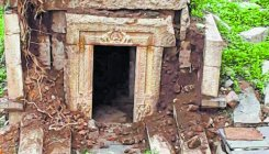 Unrelenting rain ravages Hampi monument