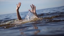 Miraculous escape for aged woman from drowning