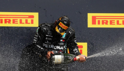 Hamilton wins British GP; nears Schumacher's record