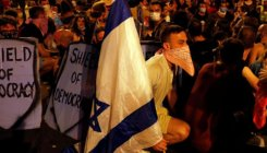 PM Netanyahu rails at media over protests against him