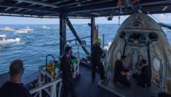 Astronauts recount wild ride home on SpaceX Crew Dragon