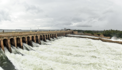 75K cusec of water released from KRS dam