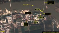 N Korea nuclear site threatened by recent flooding