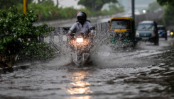 Continuous overnight rains inundate parts of Delhi