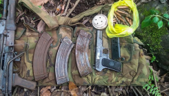 Militant hideouts unearthed in Pulwama