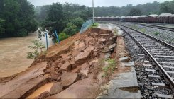 Landslide to affect rail movement in Dharwad