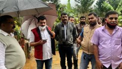 Congress delegation visits rain-hit areas