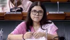 Maneka shares video of dog being run over; man booked