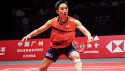 Badminton's Momota sparks stampede with coaching offer
