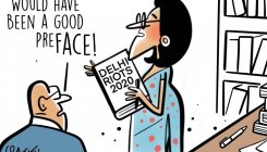 DH Toon | Bloomsbury to not publish Delhi riots book