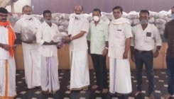 Ganeshotsava: Food kits distributed to labourers