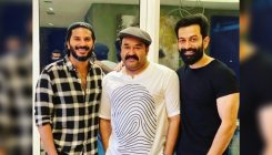 Mohanlal, Prithviraj and DQ's photo goes viral