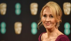 Rowling returns award after criticism over trans views