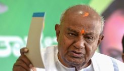 Ex-PM H D Deve Gowda backs internal quota