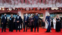 Venice film festival opens with show of support
