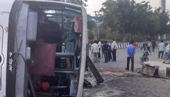7 workers killed as bus collides with truck in Raipur