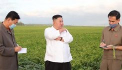 Kim Jong Un vows to overcome typhoon Maysak damage