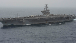 US Navy searches for Nimitz sailor in Arabian Sea