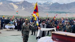 Indian Army's Tibetan highland warrior laid to rest