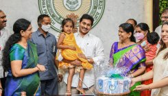 Jagan launches food schemes for women, toddlers