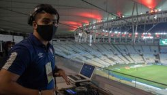 Brazil's DJs pump up energy in empty soccer stadiums