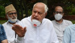 BJP, RSS taking recourse to communal politics: Farooq
