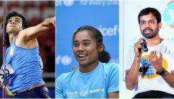 Hima Das, others to raise awareness about fitness