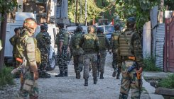 Search ops for militants underway in Kashmir's Budgam